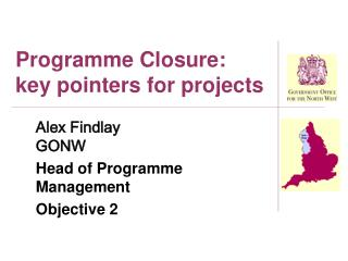 Programme Closure: key pointers for projects