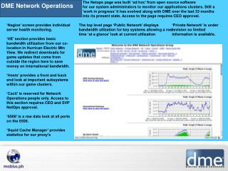 DME Network Operations