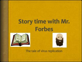 Story time with Mr. Forbes
