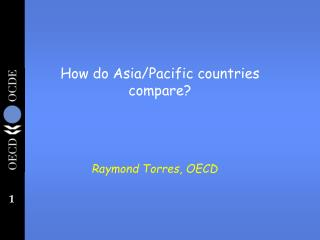 How do Asia/Pacific countries compare?