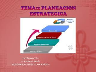 TEMA:2 PLANEACION ESTRATEGICA