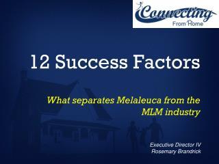 12 Success Factors