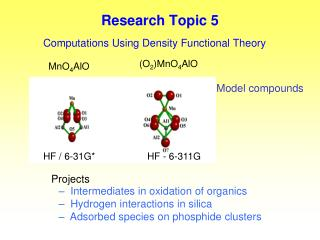 Research Topic 5