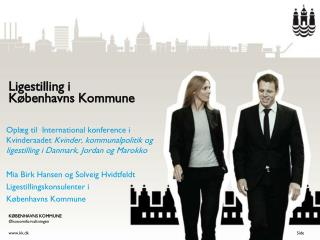 Ligestilling i  K�benhavns Kommune