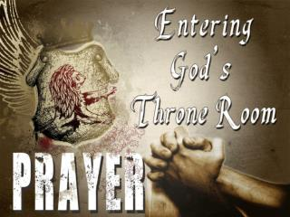 Ultimately Prayer has two purposes.  -  To  Know God  -  To  Make God Known .