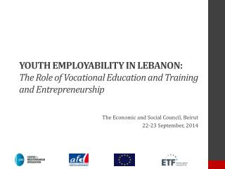 The Economic and Social Council,  Beirut 22-23 September, 2014