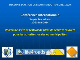 DECENNIE D'ACTION DE SECURITE ROUTIERE 2011-2020