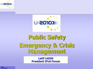 Public Safety Emergency & Crisis Management