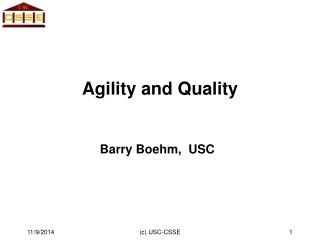 Agility and Quality