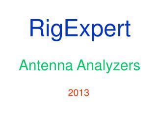 RigExpert Antenna Analyzers