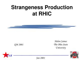 Strangeness Production at RHIC