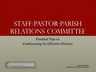 Staff/Pastor-Parish Relations Committee