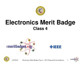Electronics Merit Badge Class 4