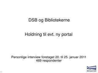 DSB og Bibliotekerne