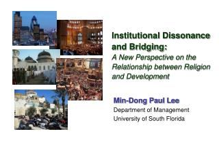 Institutional Dissonance and Bridging:  A New Perspective on the Relationship between Religion and Development
