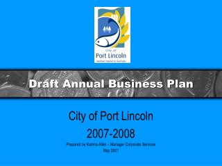 Draft Annual Business Plan