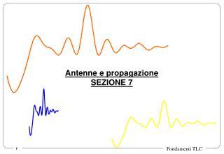 Antenne e propagazione SEZIONE 7