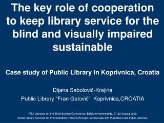 The key role of cooperation