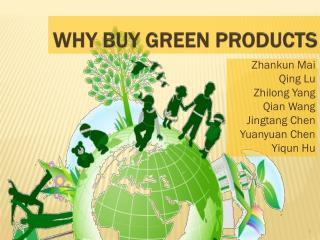 Why Buy Green Products