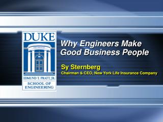 Why Engineers Make Good Business People