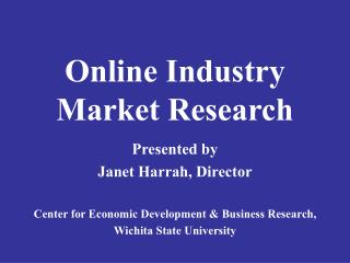 Online Industry Market Research