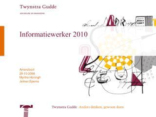Informatiewerker 2010