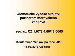 Konference Venkov po roce 2013