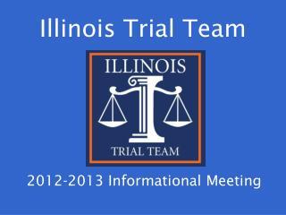 Illinois Trial Team