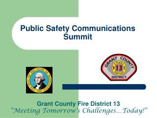 Public Safety Communications Summit