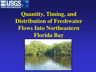 Quantity, Timing, and Distribution of Freshwater Flows Into Northeastern Florida Bay
