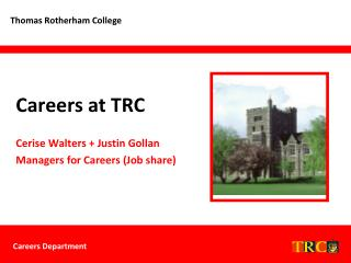Careers at TRC