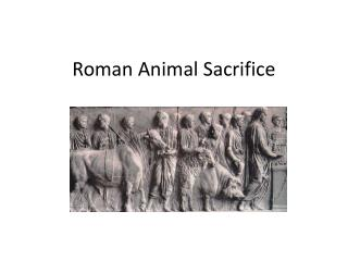Roman Animal Sacrifice