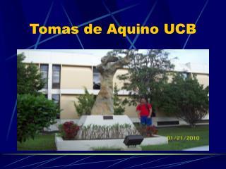 Tomas de Aquino UCB