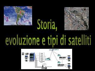 Storia,  evoluzione e tipi di satelliti