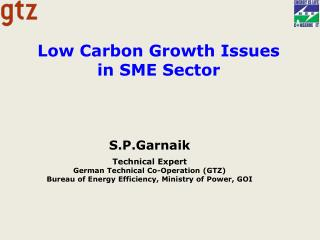 Low Carbon Growth Issues  in SME Sector