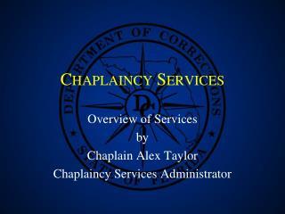 Chaplaincy Services