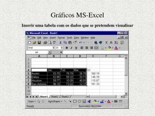 Gráficos MS-Excel