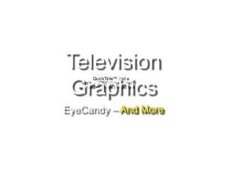 Television Graphics