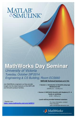 MathWorks Day Seminar