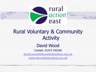 Rural Voluntary & Community Activity