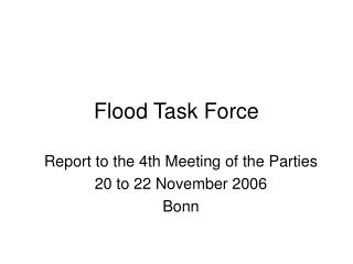 Flood Task Force