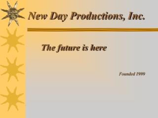 New Day Productions, Inc.
