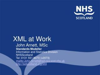 XML at Work