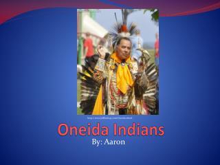 Oneida Indians