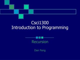Csci1300  Introduction to Programming