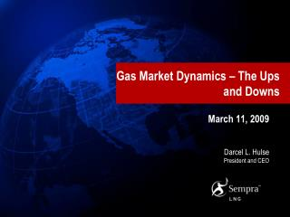 Gas Market Dynamics   The Ups and Downs