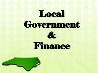 Local Government  &  Finance
