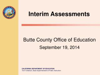 Butte County Office of Education September 19, 2014