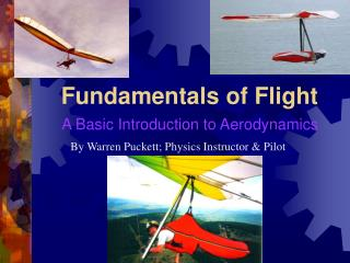 Fundamentals of Flight