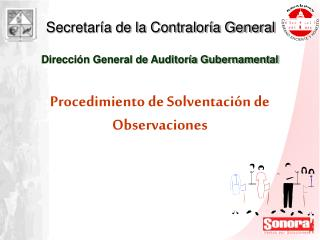 Dirección General de Auditoría Gubernamental